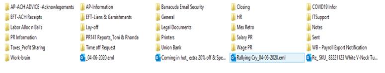 CLOP posted a screencap of directories