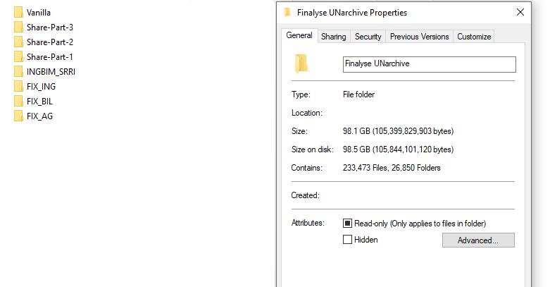 Screencap of Directory