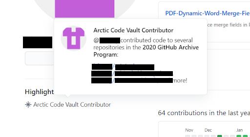 Contributor to Vault