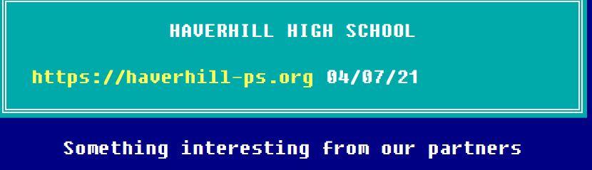 Haverhill listing