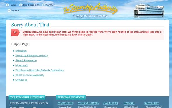 Notice on Site